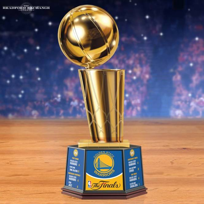 nba finals trophy