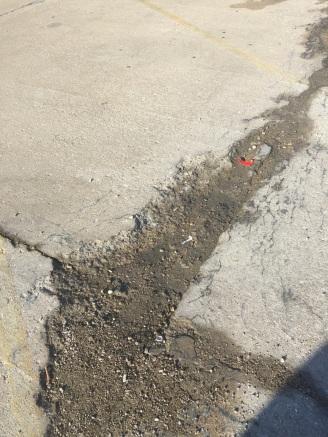 south clark parking lot 2
