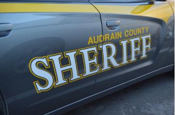 Audrain County Sheriff's Car