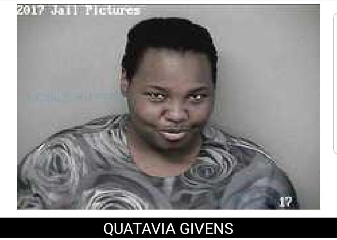quatavia givens mugshot