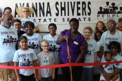 Shivers Ribbon Cutting
