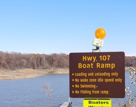 107 boat ramp