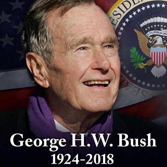 George H W Bush Dies At Age 94 Kxeo