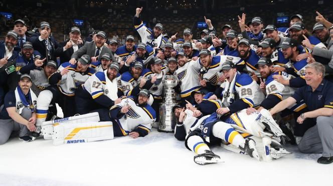 Stanley Cup Champions St. Louis Blues