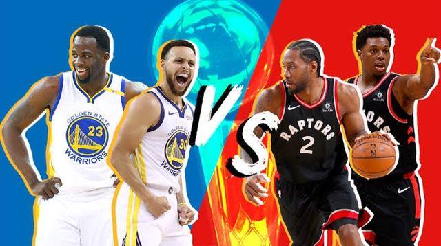 toronto vs. golden state nba finals