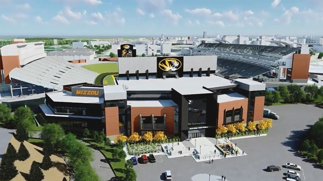 mu south end zone project