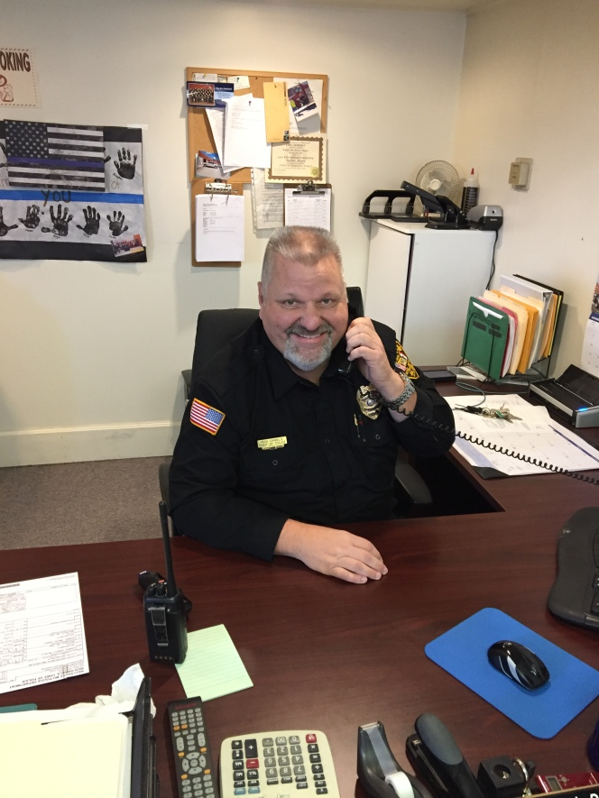 chief daniels wellsville police